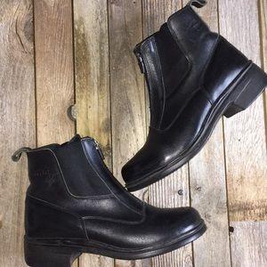 Dansko front zip ankle boots